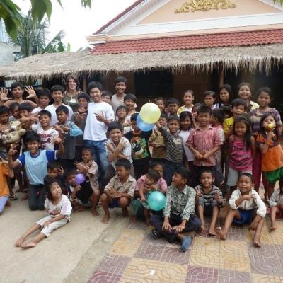 Ophélie I au Cambodge